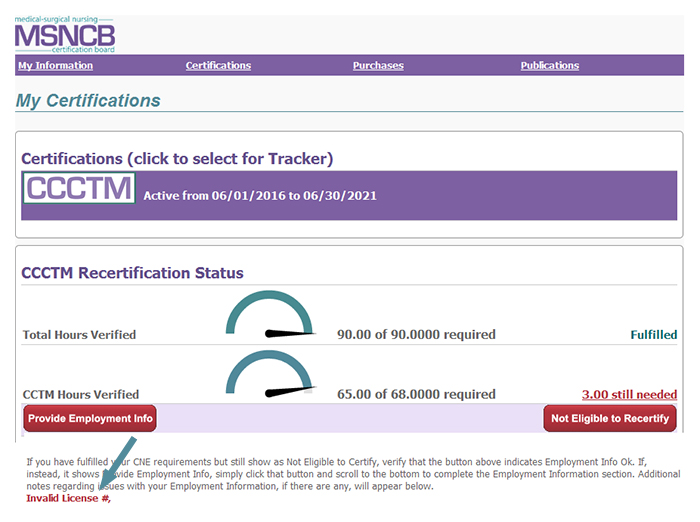 CCCTM Tracker and Application | MSNCB