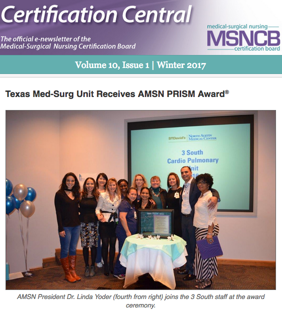 Certification Central Email Newsletter | MSNCB